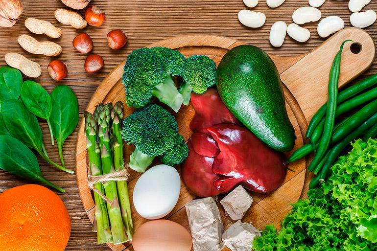 Quais são os alimentos que são fontes de ácido fólico?