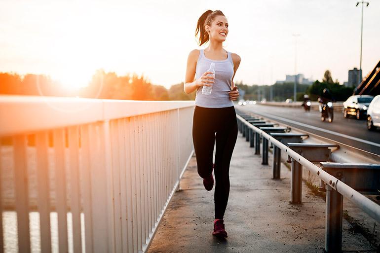 Faça atividades físicas