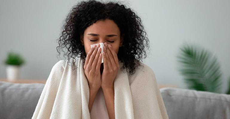 Causas de resfriados constantes